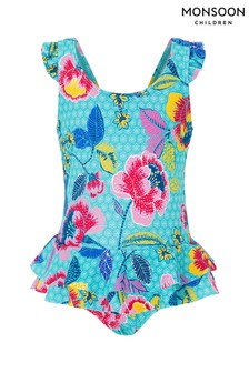 Monsoon Children Blue Baby Adley Swimsuit