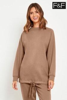 F&F Mink Bubble Hem Sweater