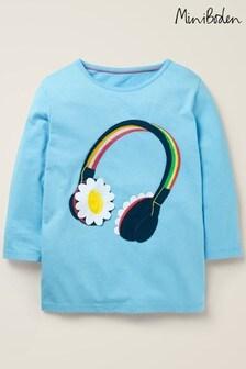 Boden Blue Music Flutter T-Shirt