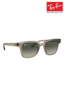 Ray-Ban® Transparent Grey ORB4323 Sunglasses