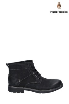 Hush Puppies Black Duke Chukka Boots