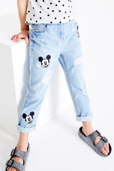 Jean Mickey Mouse™ Patch   (3-16 ans)
