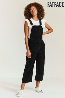 FatFace Black Clayton Cord Dungarees