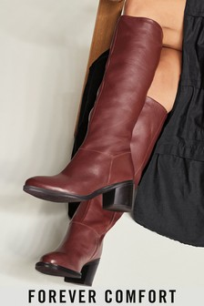 Forever Comfort® Soft Leg Knee High Boots