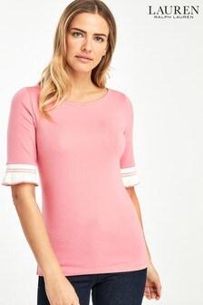Lauren Ralph Lauren® Kasosha Sleeve Detail Top
