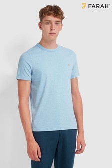 Farah T-Shirt With Embroidered Chest Placement Logo