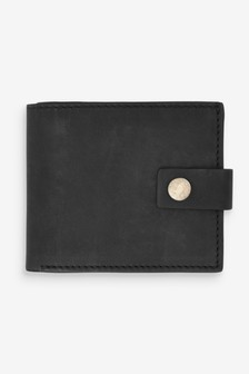 Tumbled Leather Bifold Wallet