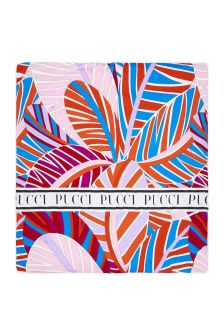 Emilio Pucci Baby Girls Orange Cotton Blanket