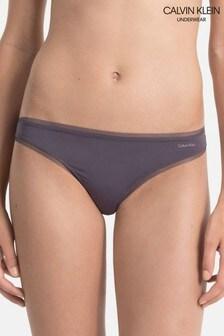 Calvin Klein Purple Sculpted Thong