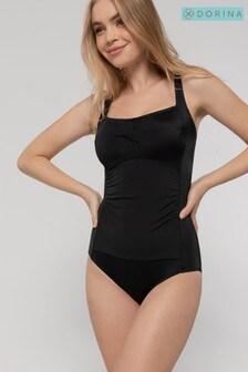 Czarny strój kąpielowy DORINA Curve Fiji bez fiszbinów