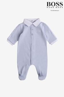 BOSS Blue Babygrow