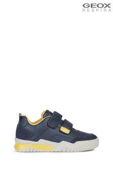 Geox Boy's Perth Blue Shoes
