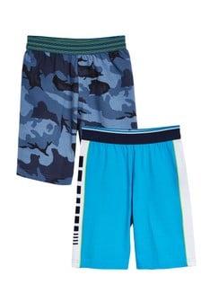 2 Pack Pyjama Shorts (3-16yrs)