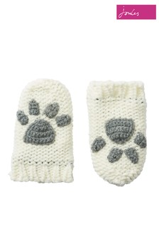 Joules Paws Knitted Mittens