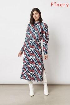 Finery London Grey Marne Dress