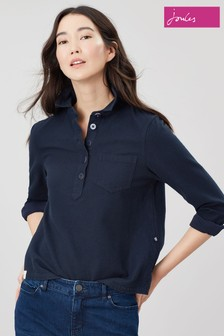 Joules Blue Ashbrook Deck Shirt