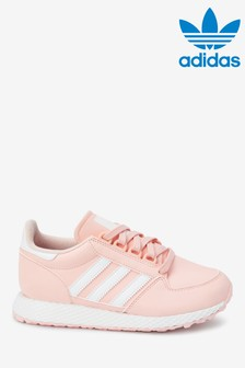 adidas Originals Pink Forest Grove Youth Trainers