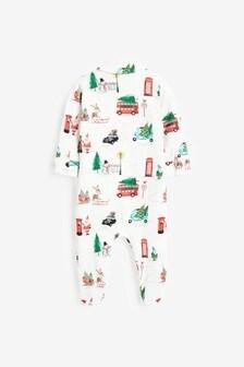 Christmas Character Pyjama Sleepsuit (0mths-3yrs)