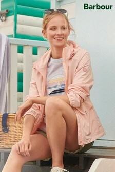 Barbour® Coastal Pale Pink Waterpoof Lightweight Jacket