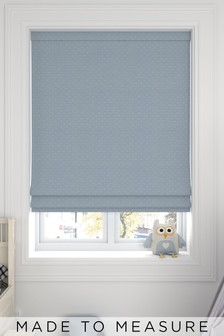 Windsor Sky Blue Made To Measure Roman Blind