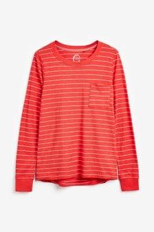 Long Sleeve Slub T-Shirt