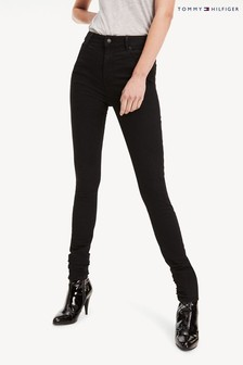 Tommy Hilfiger Black Harlem Ultra Skinny High Waisted Jeans