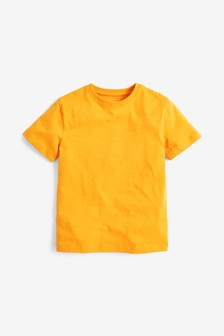 Short Sleeve Crew Neck T-Shirt (3-16yrs)