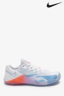 Nike Train Blue/Orange Metcon 5 Premium Trainers