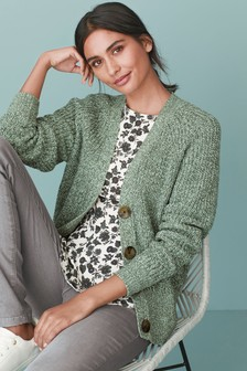 Stitch V-Neck Cardigan