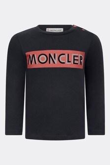 Moncler Enfant Baby Boys Cotton Long Sleeve T-Shirt
