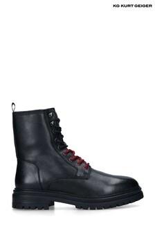 KG Kurt Geiger Black Admiral Boots