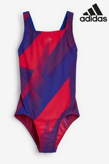adidas All Over Print Swimsuit