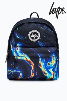 Hype. Pink Rainbow Marble Backpack