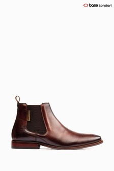 Base London Brown Sikes Chelsea Boots
