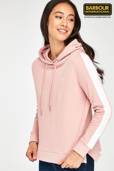 Barbour® International Pink Podium Logo Hoody