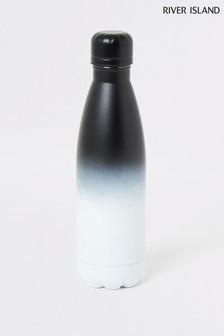 River Island Grey Fade Water Bottle
