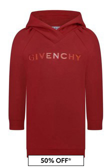 Givenchy Kids Girls Hooded Sweater Dress