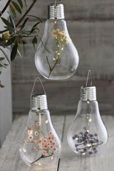 Set of 3 Solar Floral Bulbs