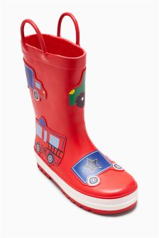 Car Wellies (Younger)