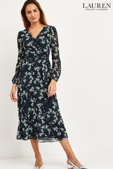 Lauren Ralph Lauren® Navy Floral Dress