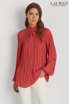 Lauren Ralph Lauren Blush Pink Duong Blouse