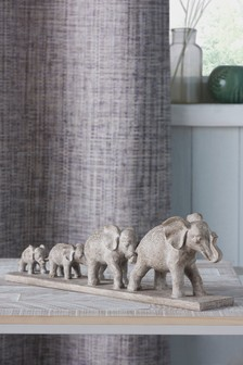 Elephant Family Sculpture