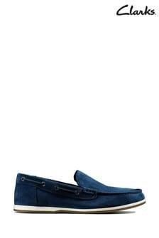 Clarks Navy Morven Sun Shoes