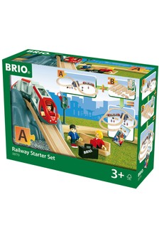 BRIO World Railway Starter Set A