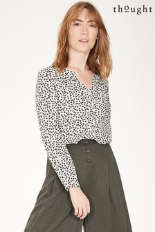 Thought Grey Dorothy Blouse