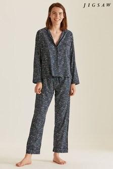 Jigsaw Olivia Animal Print Pyjamas