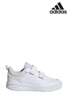 Белые кроссовки для подростков adidas Tensaur