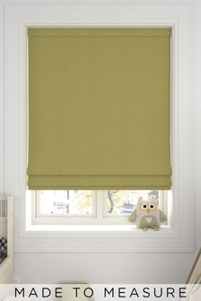 Windsor Sorbet Yellow Made To Measure Roman Blind