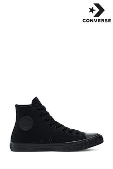 69c67bb2691 Converse Black Chuck Taylor All Star Hi