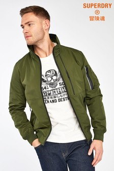 Superdry Khaki Light Bomber Jacket